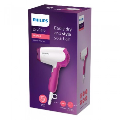PHILIPS BHD003 ESSENTIAL HAIRDRYER 3 PIN VERS