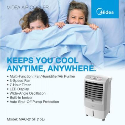 MIDEA 15L PORTABLE AIR COOLER MAC-215F